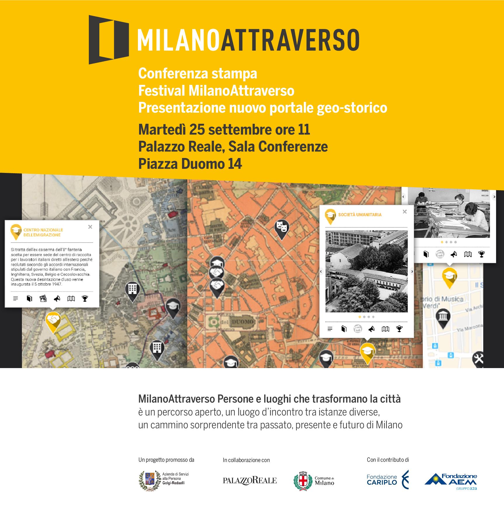 25 settembre: Presentazione MilanoAttraverso